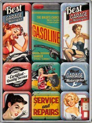 Magnetset 9 Teilig Gasoline