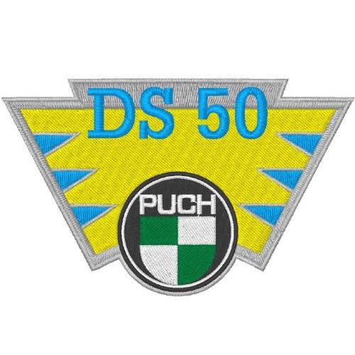 Puch DS50 Aufnäher Patch