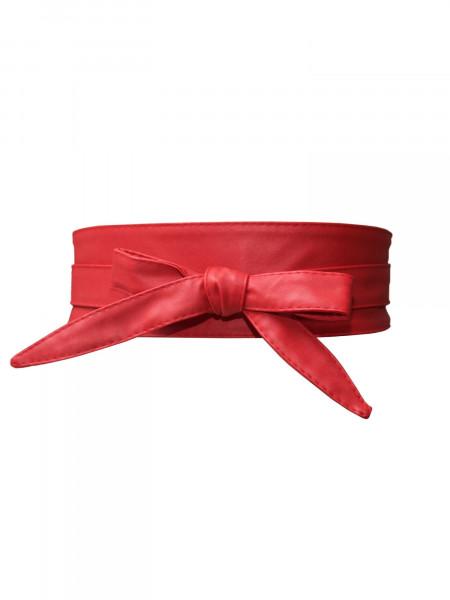 Obi Gürtel rot Bindegürtel