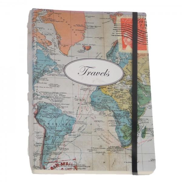 Notizbuch Travels A5