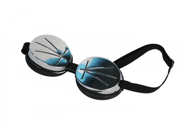 Regenschutzbrille in schwarz
