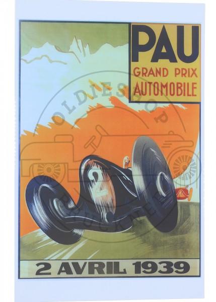 Poster Pau 1939