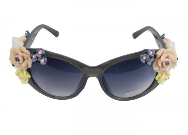 Rosen Sonnenbrille in grau