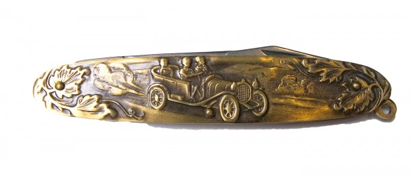 Taschenmesser Oldtimer Messing