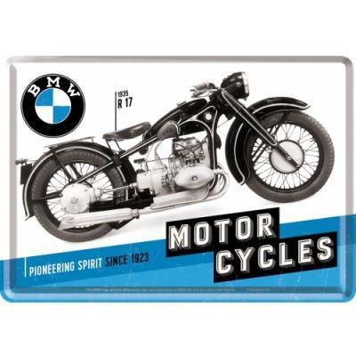 Blechpostkarte BMW Motorrad