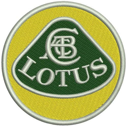 Lotus Aufnäher