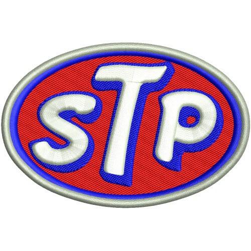 STP Nascar Patch Aufnäher