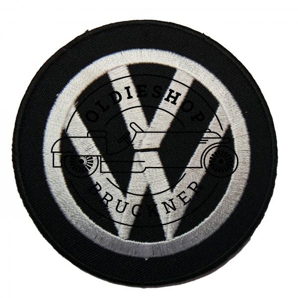VW schwarz Aufnäher Patch