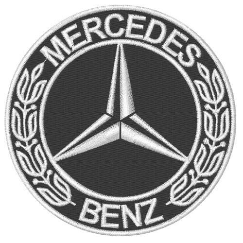 Mercedes Aufnäher
