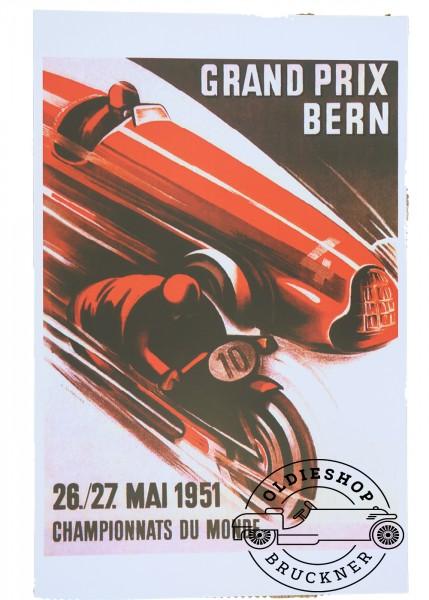 Poster Bern Grand Prix 1951