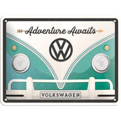 VW Bulli T1 Adventure Awaits türkis