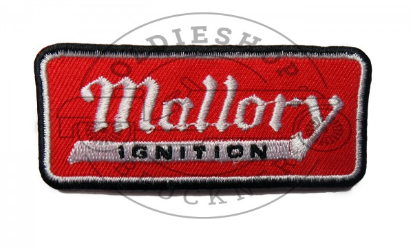 Mallory Ignition Aufnäher Patch
