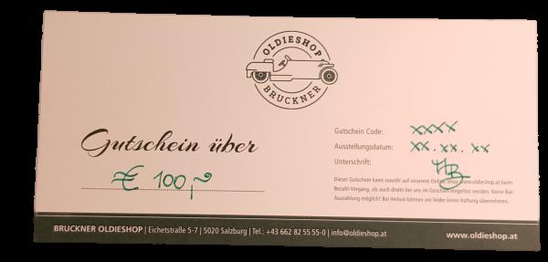 Geschenkgutschein über € 100,-