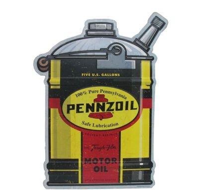 Penzoil Kanister Metallschild