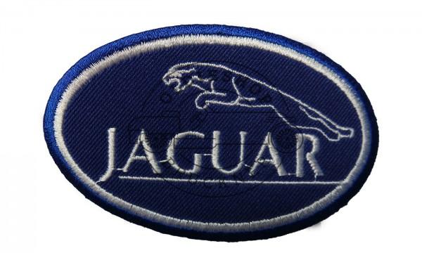 Jaguar blau Aufnäher Patch