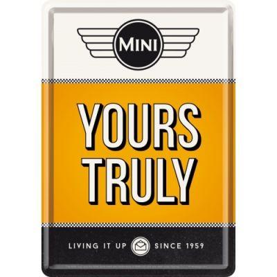 Blechpostkarte Mini