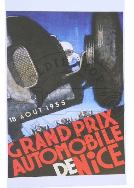 Poster Grand Prix von Niza