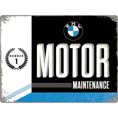 Metallschild BMW Motor 40x30cm