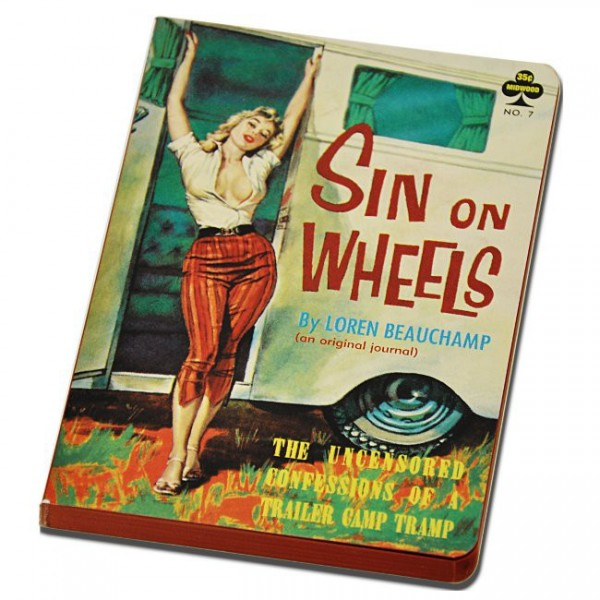 Sin on Wheels Notizbuch A5