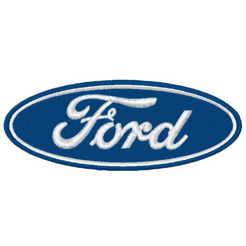 Ford Aufnäher Patch Oval