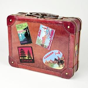 Blech koffer blechdosen blechschilder deko und for Accessoires und geschenke
