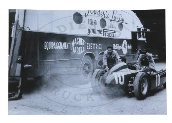 Foto Lancia Rennstall 1955